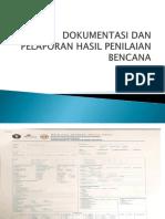 Dokumentasi dan pelaporan hasil penilaian bencana.pptx