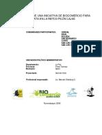 Conservación y Aprovechamiento de la Jatata (Geonama deversa)