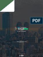 Brochure Primer Congreso Virtual BIMV1.0