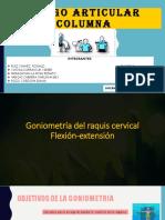 GONIOMETRÍA DEL RAQUIS CERVICAL-FLEXION Y EXTENSION.pptx