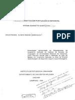 FALSOS COGNATOS EM PORTUGUÊS E ESPANHOL  - Leiva_MyriamJeannetteSerey_M