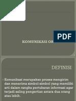 komunikasi organisasi.ppt