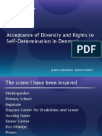 Acceptance of Diversity and Rights to Self-Determination in Denmark
