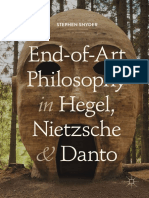 Stephen Snyder - End-of-Art Philosophy in Hegel, Nietzsche and Danto-Springer International Publishing,Palgrave Macmillan (2018)