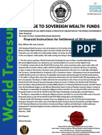 World Sovereign Wealth Funds No. 27655 Circular 1 (Official)