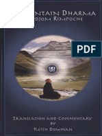Keith Dowman - Mountain Dharma
