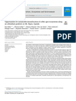 Opportunities for sustainable intensification of coffee agro-ecosystems along an altitudinal gradient on Mt. Elgon, Uganda