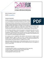 B2B Sales & Marketing_Project Profile.docx