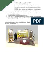Spesifikasi Set Panel Pameran
