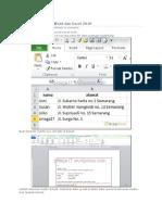 Mail Merge dengan Word dan Excel.docx