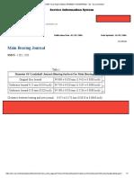 Main Bearing Journal
