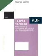 Ricardo Llamas, Teoría torcida, Prejuicios y discursos en torno a «la homosexualidad»