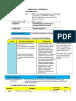 SESIÓN DE APRENDIZAJ1 comunicacion.docx