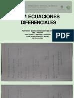 SOLUCIÓN DE ECU.DIFÉ. LINEALES