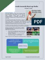 Start Up India - by Sagar R. Baheti