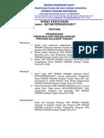 SK Pengurus DPD PERGIZI PANGAN - 2017