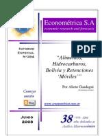 Alimentos, hidrocarburos, Bolivia y retenciones móviles-Alieto Guadagni