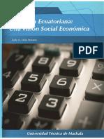 ECONOMIA ECUATORIANA UNA VISION SOCIAL Y ECONOMICA