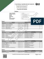 Plan de Estudios 1996 Ingeniería Mecánica de Fluidos
