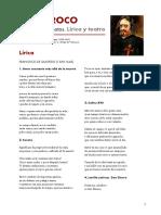 Antología de textos barrocos. Poesía y teatro.
