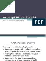 Diskusi Topik - Syed M Zulikar - Konjungtivitis dan Keratitis.pptx