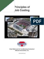 Principle of Job Costing