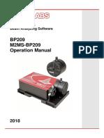 M2MS-BP209Manual