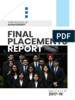 Placement Report 2018-19