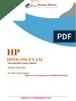 HPE0-S50-demo
