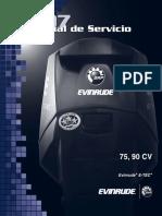 MANUAL SERVICIO EVINRUDE EYEC 75-90 HP+ESP