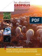 Global health - People, animals, plants, the environment