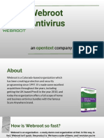 Webroot Anti Virus PDF