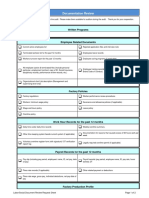 Sumerra Labor Audit Documentation Review Sheet