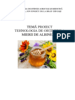 Tehnologia de obtinere a mierii de albine.docx