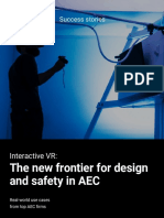 Interactive VR - The new frontier for design and safety in AEC - Real-world use cases from top AEC firms