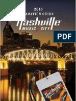 Nashville Vacation Guide 2010