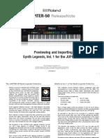 Understanding & Using Synth Legends Vol 1 - JUPITER-50