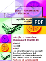 EDUCATIE SEXUALA- 1INFECTII CU TRANSMITERE SEXUALA.ppt