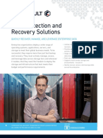 Commvault Data Protection and Recovery Solutions - Solution Brief