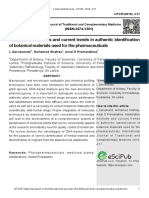Adulteration methods and current trends in authentic identification of botanical materials used for the pharmaceuticals