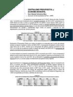 Centralismo Presupuestal y Economía Municipal - Perú