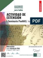 2019-SEMINARIO POEMAS FILOLOGÍA