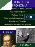 historia de la astronomía.