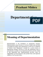 Departmentation.ppt