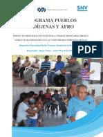 Diagnóstico Etnocultural Pueblo Tolupán, Montaña de la Flor, Orica, FM