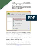 Primer proyecto Android Studio