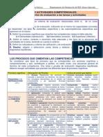DISEÑO DE TAREAS Y ACTIVIDADES COMPETENCIALES
