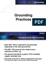 Grounding Procedure
