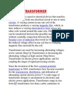 TRANSFORMER INFO.docx