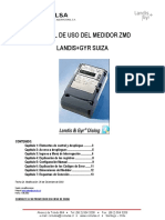 Landis gyr ZMD manual
